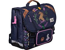 Stalla Bianca Cartable Ranch 38 cm 2 compartiments Kid'Abord
