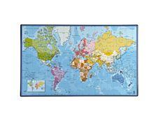 Viquel - Sous-main - 59.8 x 36.5 cm - Map monde