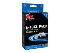 Epson 18XL Pâquerette- remanufacturé UPrint E.18XL - Pack de 5 - noir x2, cyan, magenta, jaune - cartouche d'encre