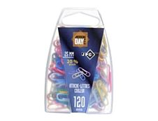 JPC CREATIONS - 120 Attaches-lettres - 25 mm