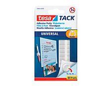tesa TACK - 80 pastilles adhésives - blanc