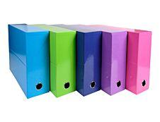 Exacompta Iderama - Boîte de transfert - 90 mm - A4 - Différentes couleurs