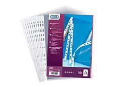 ELBA - 50 Pochettes perforées - A4 - pour 20 feuilles - 9/100