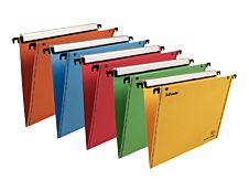 Esselte Orgarex VisioPlus - 10 Dossiers suspendus - base- V - couleurs assorties