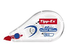Tipp- Ex Mini Pocket Mouse - Roller correcteur - 5 mm x 6 m - vrac