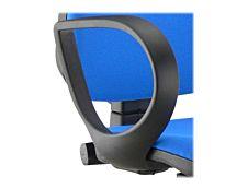 Paire d'accoudoirs pour fauteuil TORINO - Fixes en polypropylène
