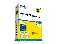 EBP Auto-Entrepreneur Pratic - version boîte + Services VIP - 1 utilisateur