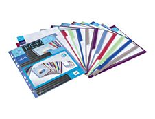 Viquel MAXI - Intercalaire - 12 positions - A4 - personnalisable - couleurs assorties