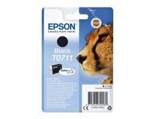 Epson T0711 Guépard - noir - original - cartouche d'encre