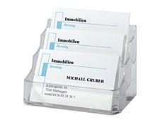 Sigel - Fichier carte - 3 pochettes - 94 x 85 mm - pour 210 cartes - clair