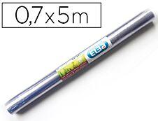 Elba - Couverture de livre - 70 cm x 5 m - 80 µm - cristal - film PVC