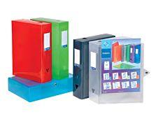 Viquel Propyglass CLASS DOC - Boîte de classement - Dos 60 mm - 245 x 330 mm - couleurs assorties 2