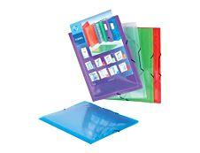 Viquel Propyglass - Chemise à 3 rabats - A4 - couleurs assorties