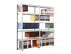 Paperflow Rang'Eco Starter - Rack à étagère - 6 niveaux - acier - gris - 100 cm