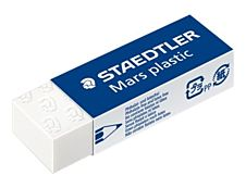 STAEDTLER Mars plastic - Gomme - 6.5 x 2.3 x 1.3 cm