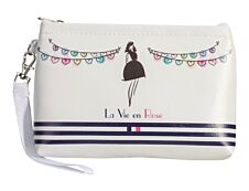 Carpentras Sign Life in pink - trousse de maquillage