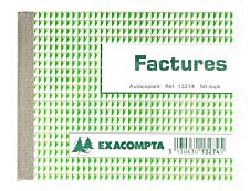 Exacompta - Manifold de factures - 105 x 135 mm - en double