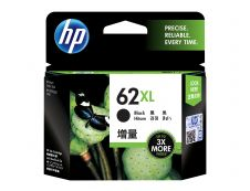 HP 62XL - à rendement élevé - noir - original - cartouche d'encre