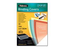 Fellowes - 25 unités - couverture à reliure PVC