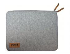 PORT Designs - Housse Torino Gris pour ordinateur 13,3-14''