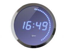 Orium - Horloge - électronique - chrome métallique