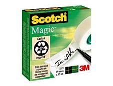 Scotch Magic 810 - Ruban adhésif invisible - 19mm x 33m