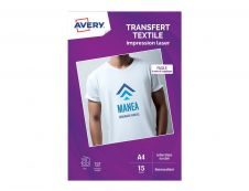 Avery Transfert Textile - papier de transfert - 15 feuille(s) - A4