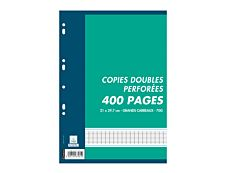Cambridge - 400 Feuilles doubles - A4 - grands carreaux