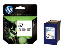 HP 57 - Pack de 2 - noir, couleurs (cyan, magenta, jaune) - original - cartouche d'encre