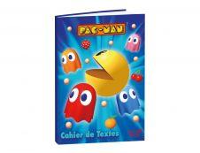 Cahier de textes Pacman 15X21cm Quo Vadis