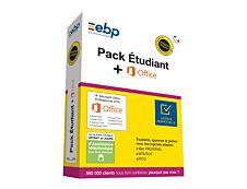 EBP Pack Etudiant (v. dernière version) - version boîte - 1 licence - avec Microsoft Office Professional 2016