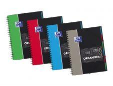 Oxford Student Organiserbook A4+ - Cahier - 160 pages - Grands carreaux - disponible dans différentes couleurs