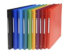 Exacompta - Classeur à anneaux - Dos 20 mm - A4 - pour 100 feuilles - disponible dans différentes couleurs