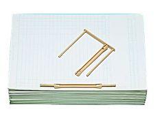 Fast - Système d'attache - relieur en en plastique - fasteneur - beige