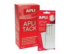 Apli - Pâte adhésive : pack de 114 adhésifs de montage