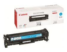 Canon 718 - cyan - original - cartouche laser