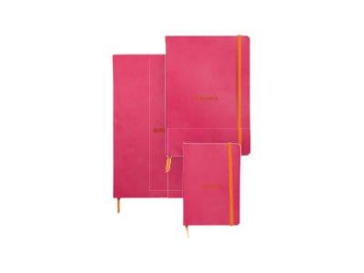 Rhodia Rhodiarama - Carnet souple A6 - 144 pages - ligné - framboise