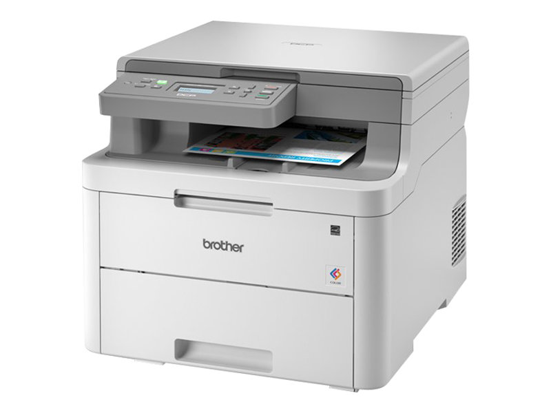 Brother DCP-L3510CDW - imprimante laser multifonction couleur A4 - recto-verso - Wifi