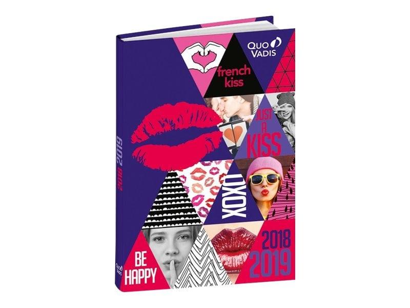 Agenda Love 1 Jour par page 12X17cm Quo Vadis