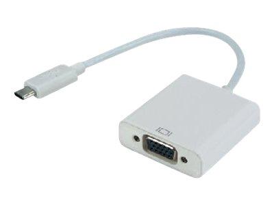 MCL Samar - convertisseur USB type C vers VGA femelle - 22cm