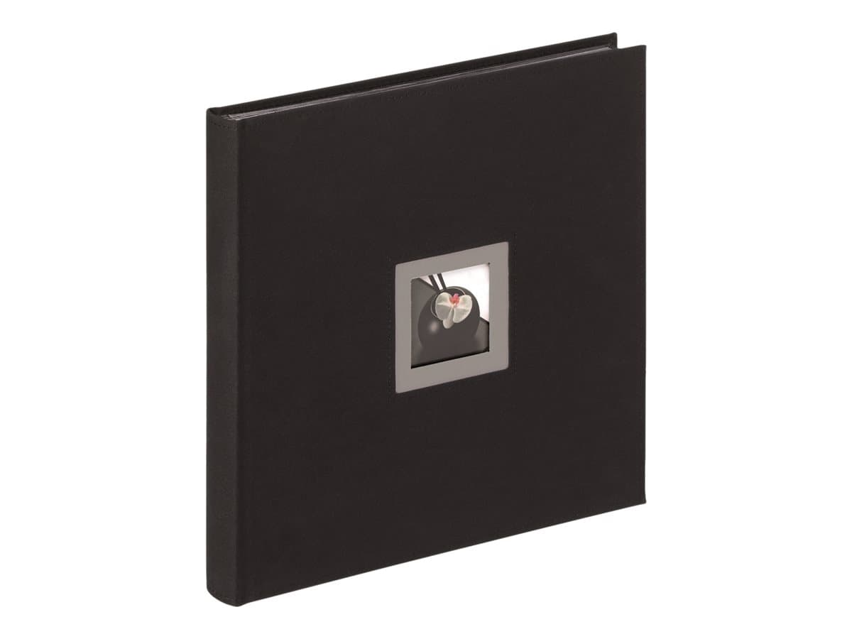 Walther - Album photo 30 x 30 cm - Black & White - noir