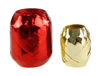 Maildor - Bolduc métallisé - ruban d'emballage 10 mm x 30 m - disponible dans différentes couleurs