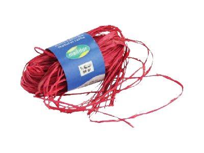 Maildor - Pelote de raphia naturel - ruban d'emballage 50 g - turquoise