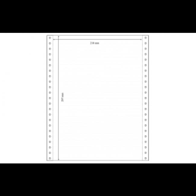 ELVE - Listing 240 x 11 4/6 blanc 80 g SI BCD - carton de 2000 plis
