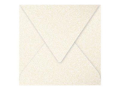 Pollen - 20 Enveloppes - 165 x 165 mm - 120 g/m² - ivoire irisé