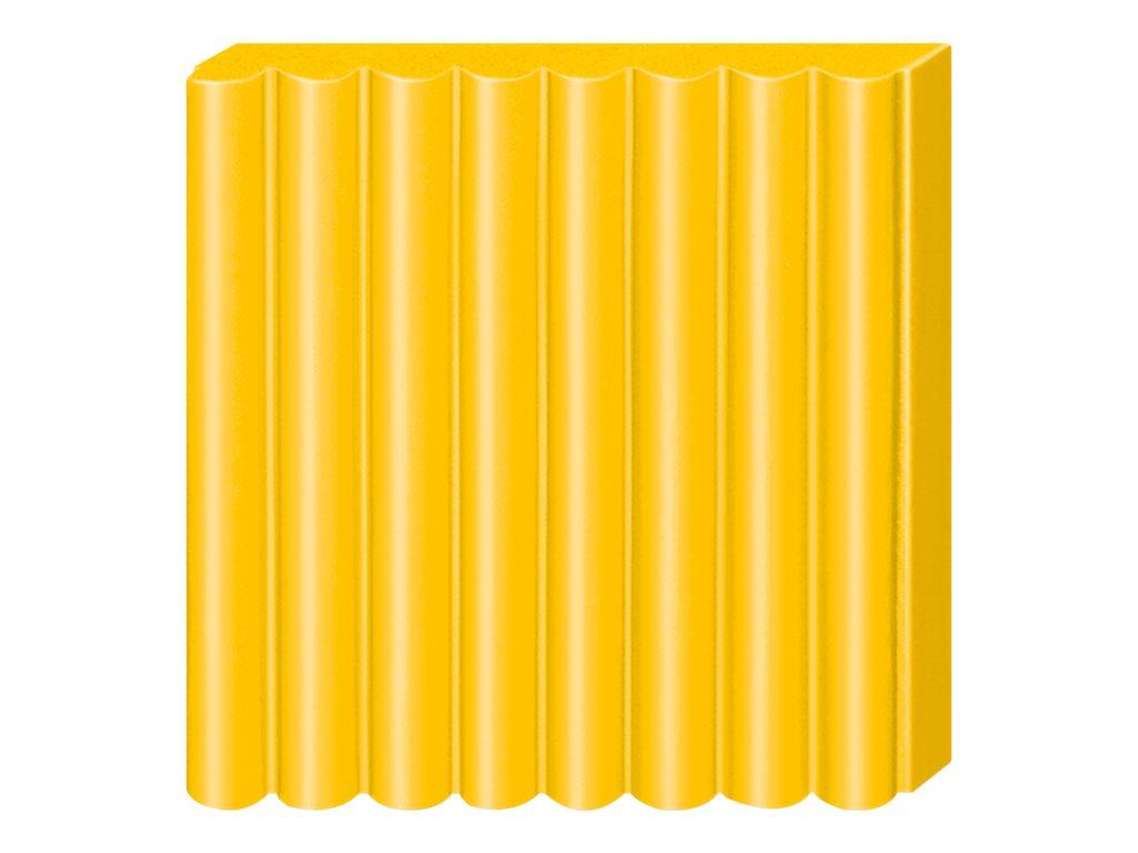 Pâte Fimo Soft  - Jaune Soleil - 57G