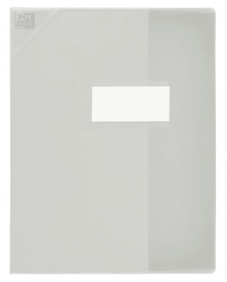 Oxford Strong Line - Protège cahier sans rabat - 17 x 22 cm - incolore translucide