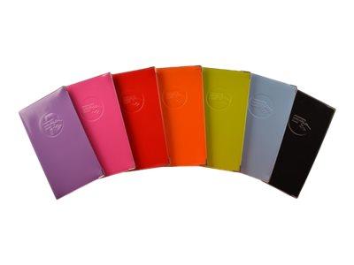 Color Pop - Etui pour 72 cartes de visite - disponible dans différentes couleurs