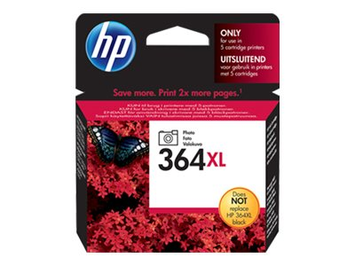 HP 364XL - noir photo - cartouche d'encre originale