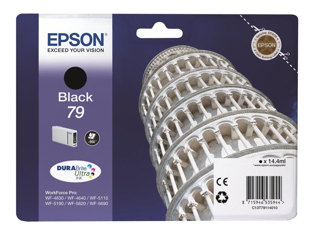 Epson 79 Tour de Pise - noir - cartouche d'encre originale
